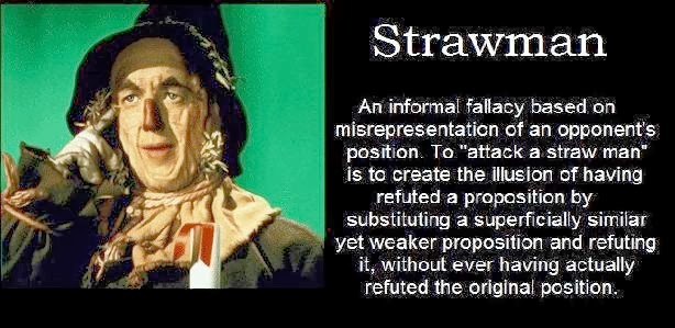 http://thesciencedog.wordpress.com/2013/12/28/beware-the-straw-man/