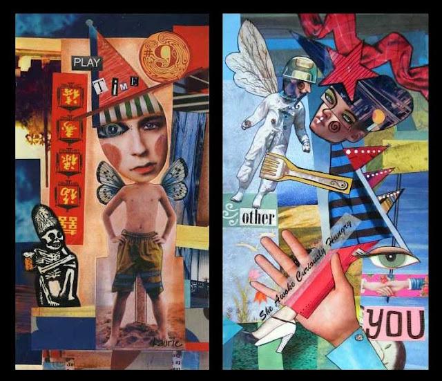 Zetti style collage