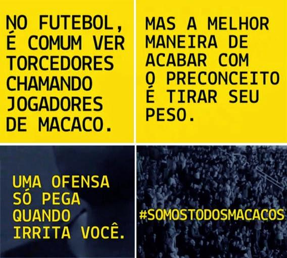 Vídeo de Neymar en apoyo al ataque racista a Dani Alves