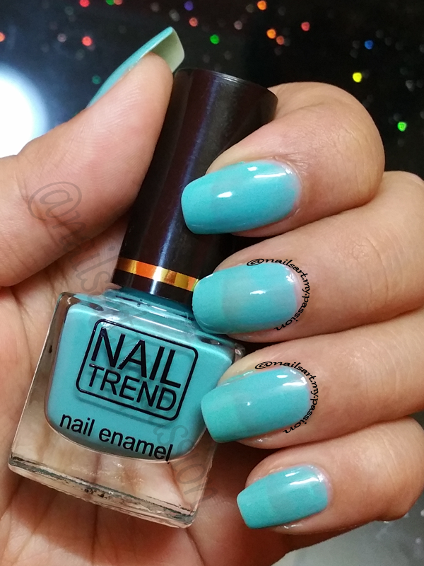 Nail Art My Passion: Shade L01 Fresh Blue by Nail Trend Swatch & Review