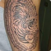 fotos de desenhos de Tatuagens de Tigres
