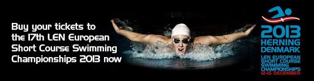 NATACIÓN-Campeonato de Europa piscina corta 2013 (Herning, Dinamarca)