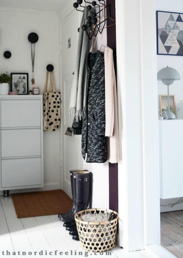 Decoraci n f cil como decorar un recibidor muy peque o de - Como decorar un recibidor pequeno ...