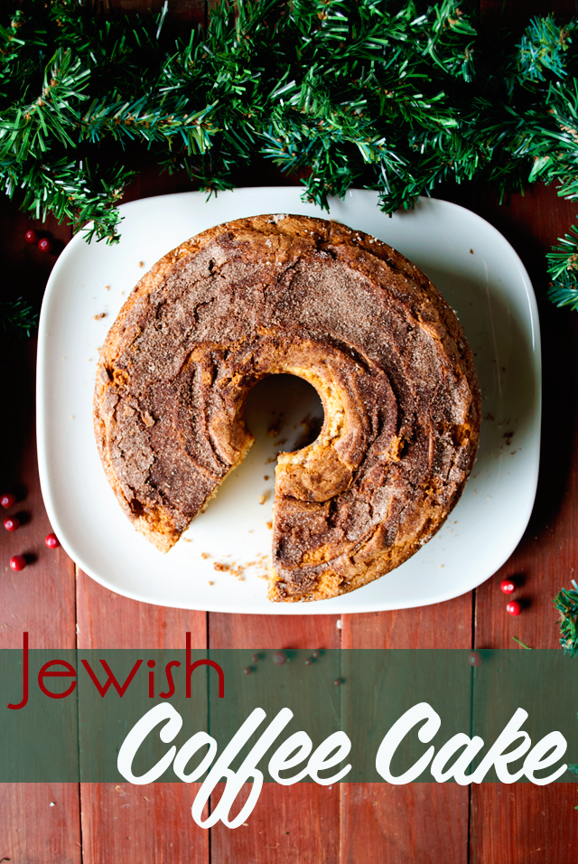 Jewish Coffee Cake #Recipe and a Baking #Fail