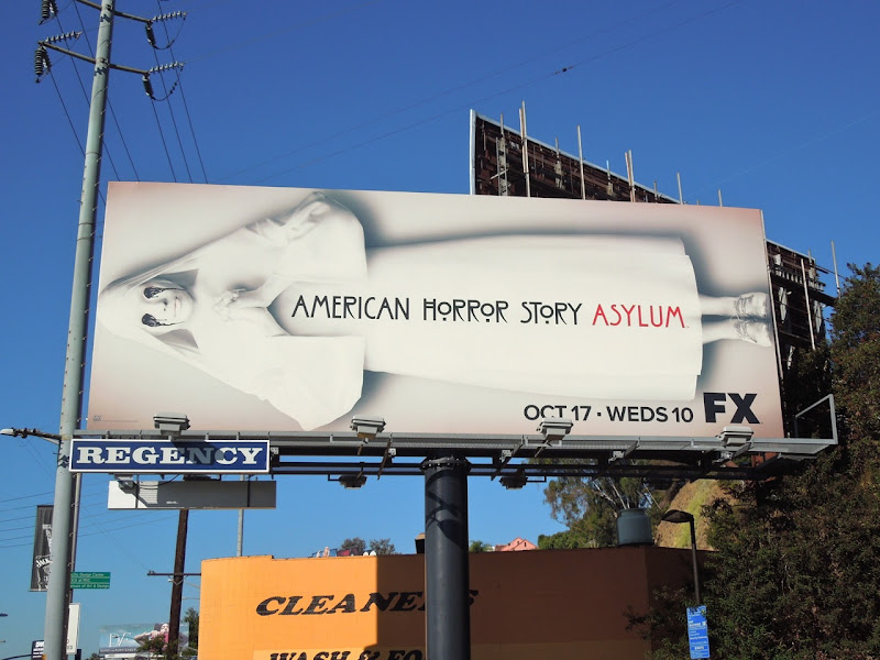 American Horror Story Asylum billboard