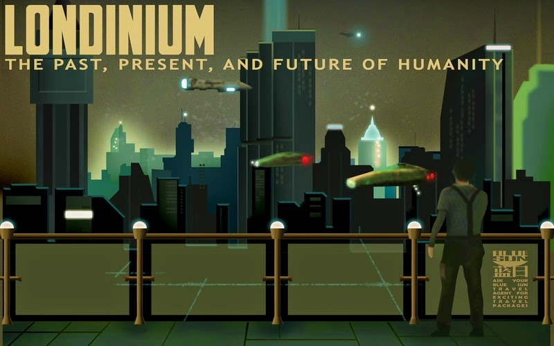 Poster for Londinium, a planet in the Firefly universe.