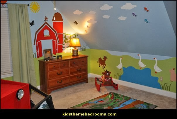 decorating theme bedrooms - maries manor: farm theme bedroom