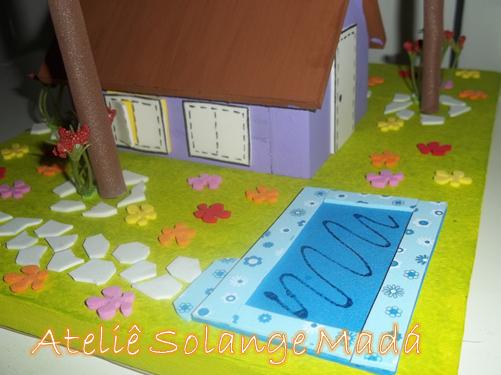 Maquete com EVA -> Como Fazer Uma Pia De Banheiro Para Maquete