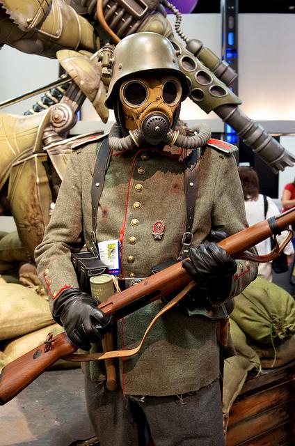 Dieselpunk Soldier Jay Noel: O is for OCC...