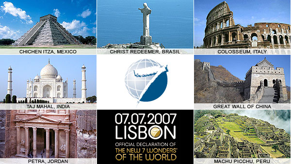 7 Wonders Of The Modern World 2013
