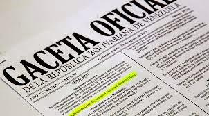 En Gaceta Oficial: oficializan la promulgación de la Ley Orgánica de la Administración Pública
