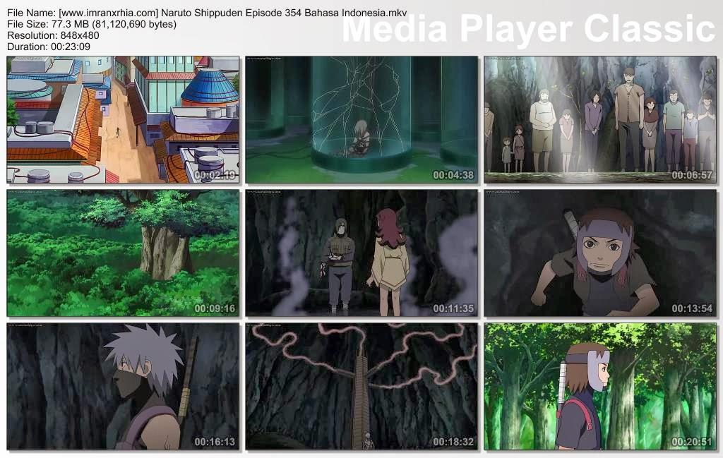 "Download Film / Anime Naruto Episode 354 ""Jalan Mereka Sendiri"" Shippuden Bahasa Indonesia"