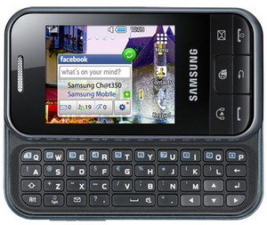Samsung Ch@t 350 QWERTY phone unveiled 1