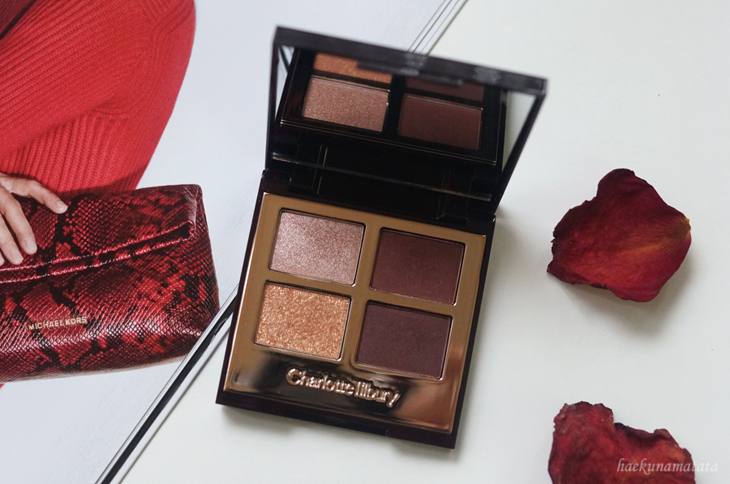 Charlotte Tilbury The Vintage Vamp Swatch Review and FOTD