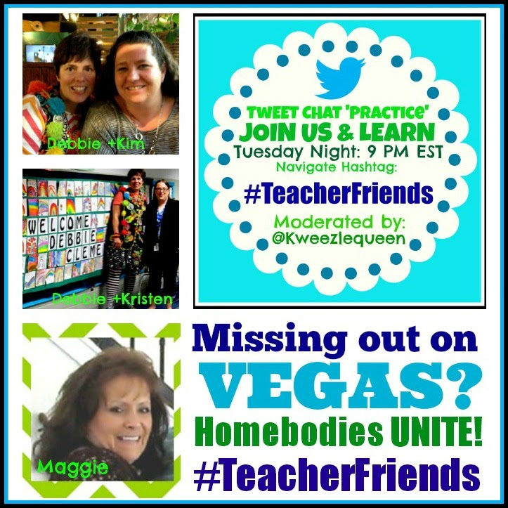 "Twitter Tuesday! #TeacherFriends ""Practice"" Chat for Twitter Newbies"