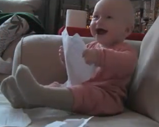 Fnny baby laughing
