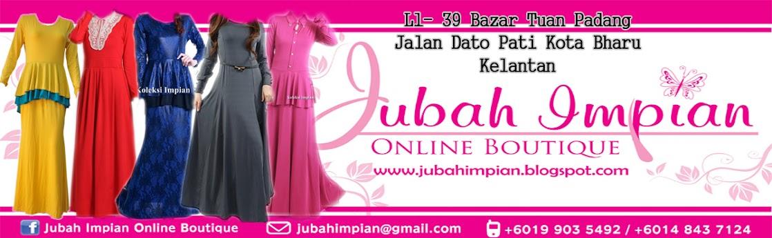 JUBAH IMPIAN ONLINE BOUTIQUE