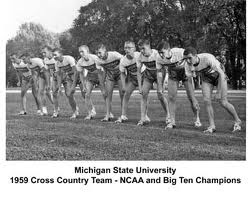 Michigan State NCAA XC Champs 1959