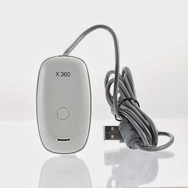 Receptor Inalámbrico USB para Xbox 360 y PC