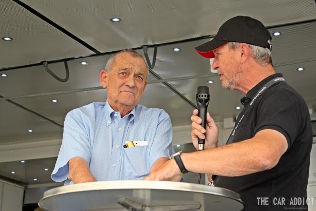 Paul Rosche BMW Oldtimer Grand Prix 2013