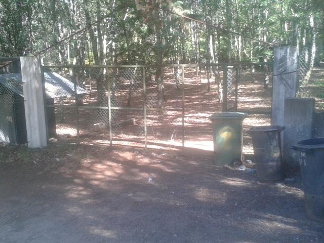 Entrada parque Campismo Serrazes