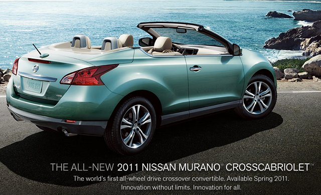 awd nissan in suv oh cleveland crosscabriolet convertible murano veh contact