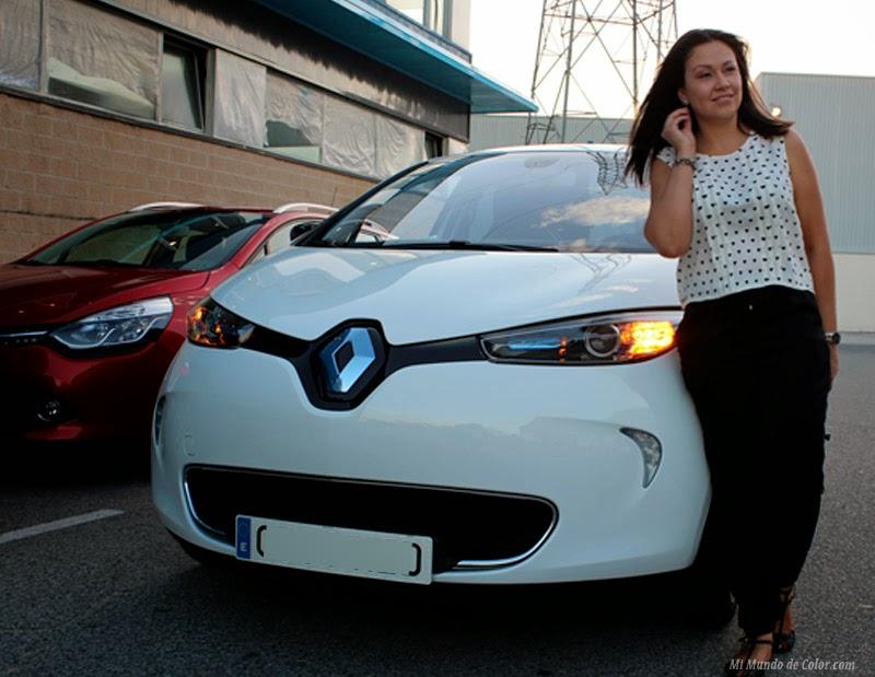 coche eléctrico zoe