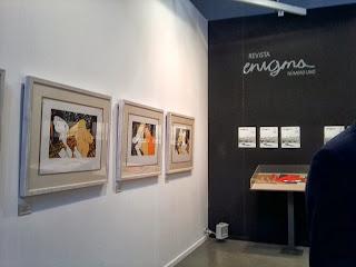 Enigma, Revista de arte, Editorial, Taller del Prado, litografías, Voa-Gallery, Blog de arte, Madrid, Estampa, 2013,