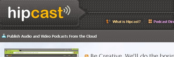 Hipcast video blogging service