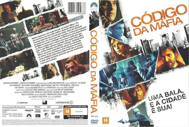 Capa DVD Código Da Máfia
