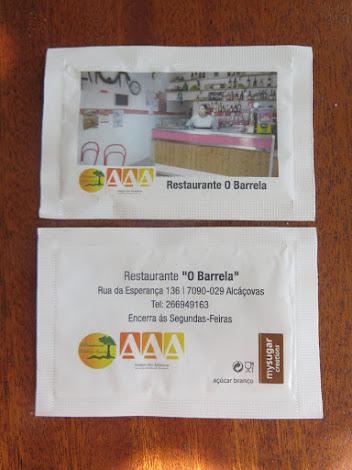 """Empresa Parceira desta semana: Restaurante """" O Barrela """""""
