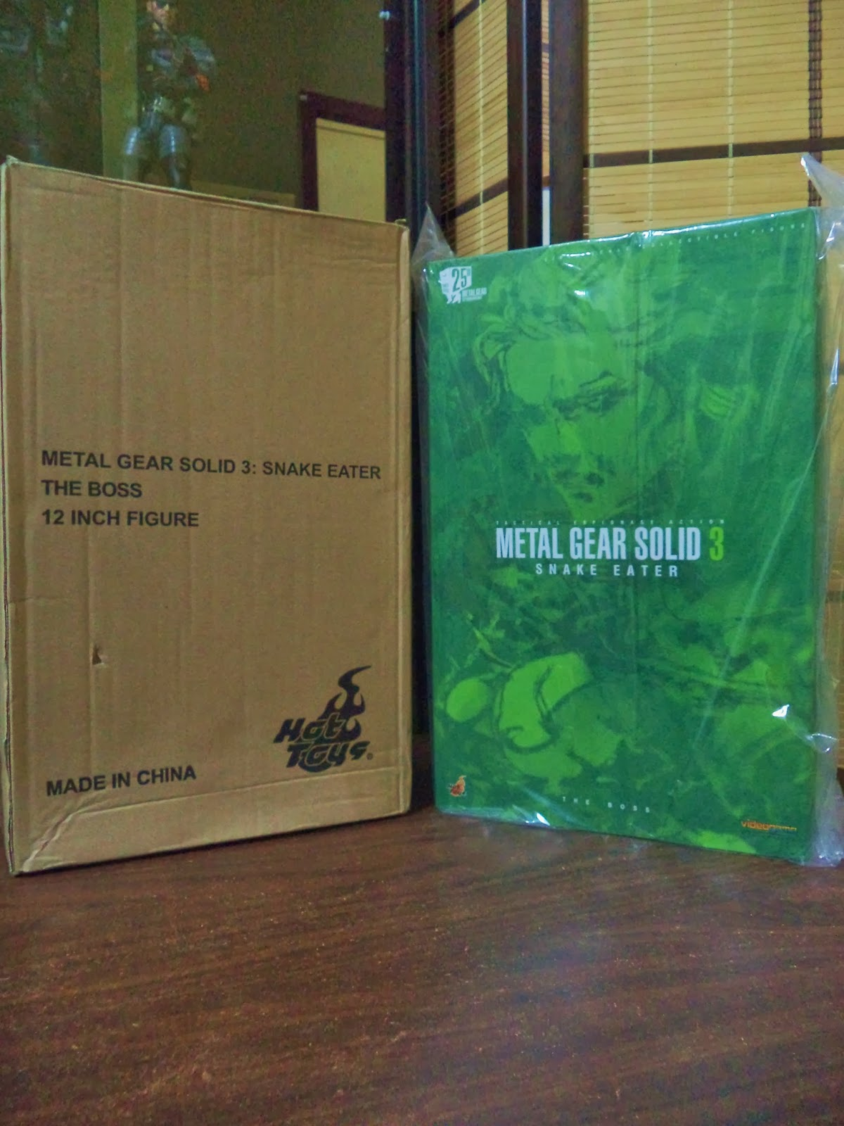 Hot Toys MGS Metal Gear Solid 3 Snake Eater Naked Snake Figure 1//6 NECK PEG