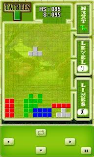Screenshots of the Tatrees for java mobile, phone.