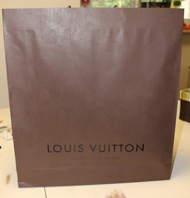Louis Vuitton Brown Shopping Bag