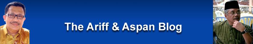 Ariff & Aspan blog