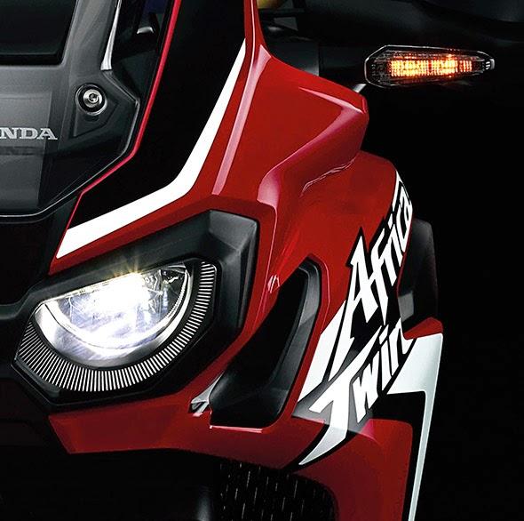 Honda African Twin Retina