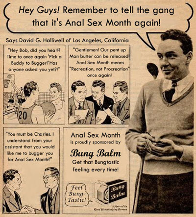 History Of Anal Sex 108