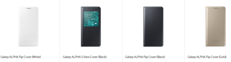 Samsung Galaxy Alpha Covers