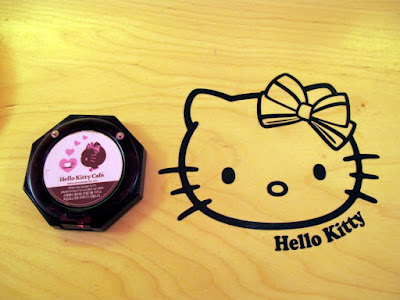 Food buzzer at Hello Kitty Cafe in Hongdae Seoul