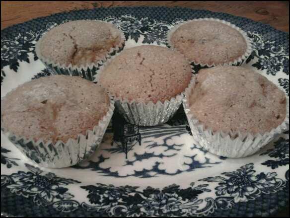 Pear Polenta Muffins