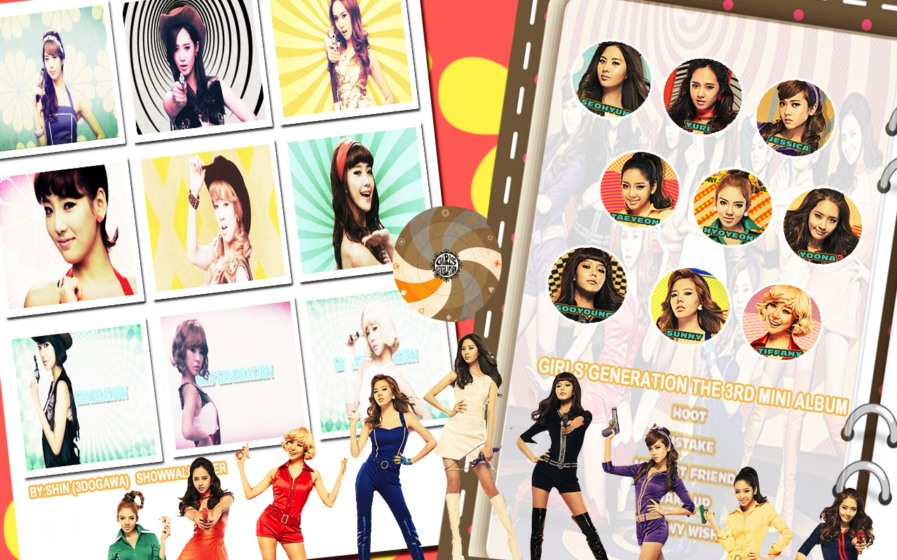 SNSD Modern Stylish Wallpaper   SNSD Artistic Gallery