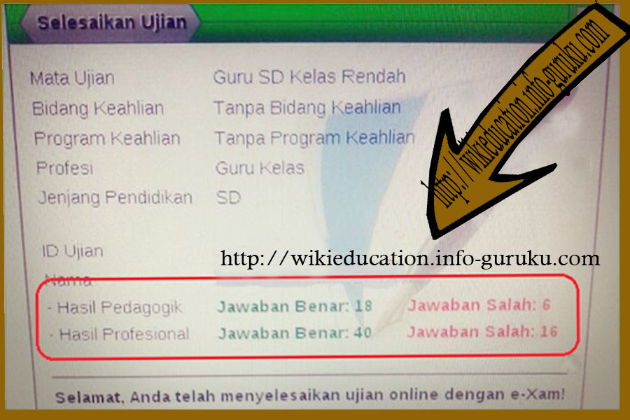 Melihat Nilai Hasil Uji Kompetensi Guru Ukg Download Lengkap
