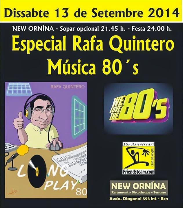 Flyer Fiesta 80's 13/09/2014
