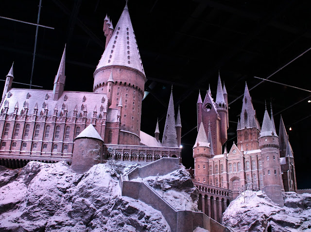 Hogwarts in the snow studio tour