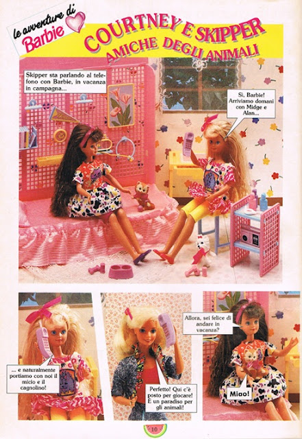 fotoromanzo Barbie