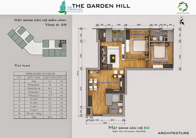 căn b3 chung cư the garden hill
