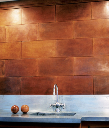 Creative juice fresh squeezed leather tiles for Leather flooring