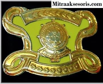 Emblem TNI bahan kuningan harga PABRIK Emblem-tni-ad
