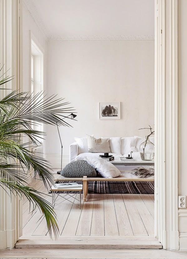 My scandinavian home an elegant swedish space in neutrals for Elegant neutral bedrooms