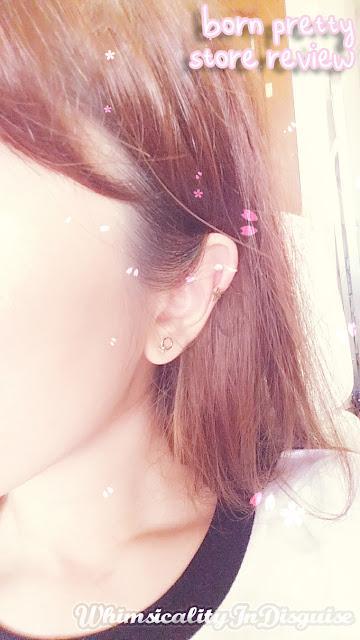 4Pcs/set Starry Sky Moon Universe Fashion Ear Cuff Set review